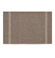 "Set de Table ""Day Drap"" Marron Clair 32x45cm (12 Utés)"