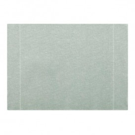 "Set de Table ""Day Drap"" Gris Perlé 32x45cm (12 Utés)"