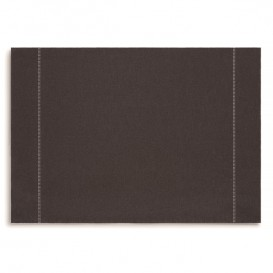 "Set de Table ""Day Drap"" Anthracite 32x45cm (72 Utés)"