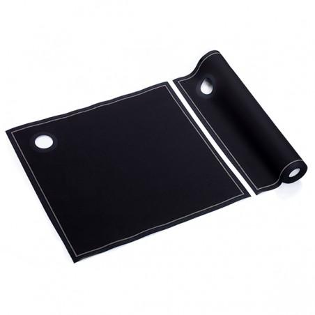 Roleaux Liteaux Seaux à Glace Noir 40x40cm P40cm (12 Utés)