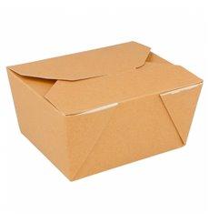 Boîte Carton Américaine Naturel 113x90x64mm 600ml (50 Utés)