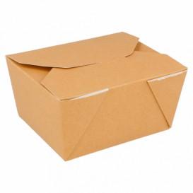 Boîte Carton Américaine Naturel 11,3x9x6,4cm 780ml (450 Utés)