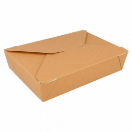 Boîte Carton Américaine Naturel 19,7x14x4,6cm 1470ml (200 Utés)