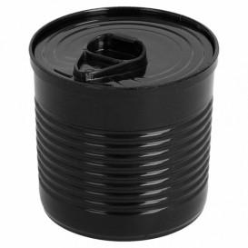 Boîte de Conserve Noire PS 220ml Ø7,4x7cm (100 Utés)