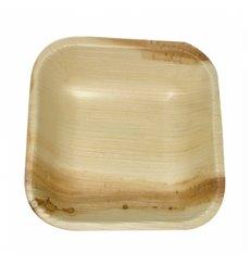 Mini Assiette Feuilles Palmier 10x10x2,5cm (200 Unités)