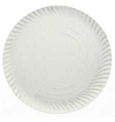 Assiette en Carton Ronde Blanc 250 mm (500 Unités)
