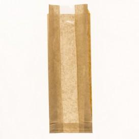 Sac Papier Kraft Fenêtre 10+4x29cm (1000 Utés)