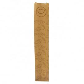 """Sac Papier Kraft """"Panes"""" 9+3x51cm (125 Utés)"""