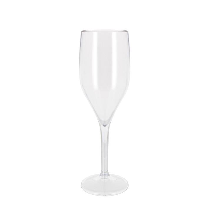 Flûte Réutilisable à Champagne SAN 150ml (1 Unité)