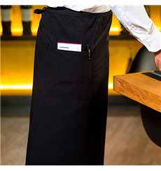Tablier Français avec 2 poches Noir 90x110cm (20 Utés)