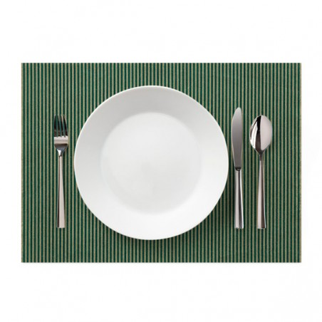 "Set de Table ""Day Drap"" Ligne Verte 32x45cm (72 Utés)"