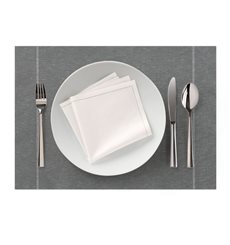 "Set de Table ""Day Drap"" Gris Perlé 32x45cm (72 Utés)"