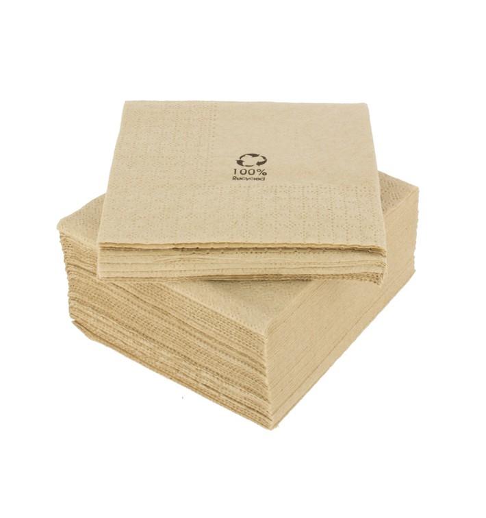 """Serviette Papier Eco """"Recycled"""" 2E 20x20cm (6000 Unités)"""