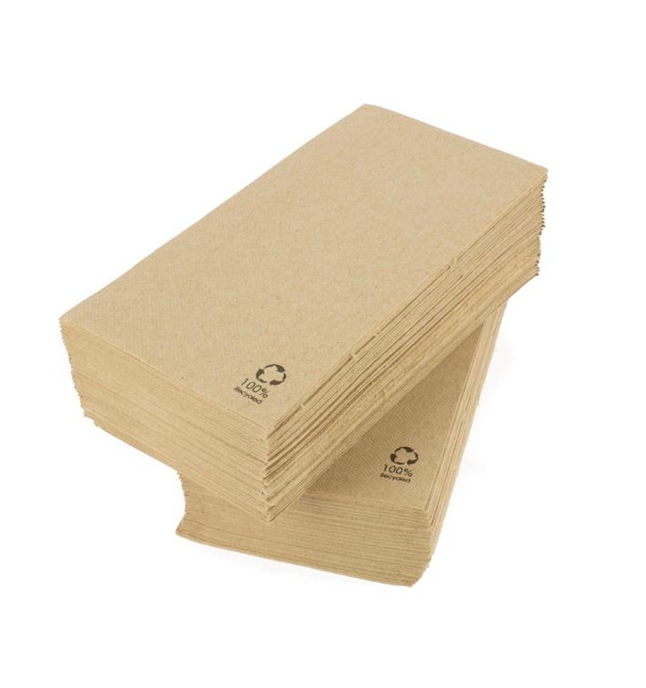 Serviette Papier Molletonnée 1/8 40x40cm (50 Unités)