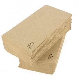 Serviette Papier Ecologique 40x40cm 2 Ep. 1/8 (2.400 Utés)