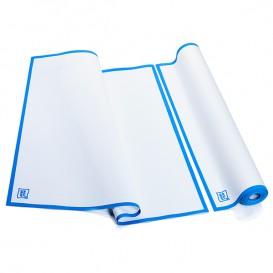 """Chiffons """"Roll Drap"""" avec Bande Bleue 52x80cm P80cm (8 Utés)"""