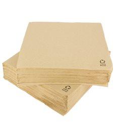 Serviette Papier Kraft 2E Molletonnée 33x33cm (1350 Unités)