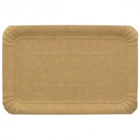 Plat rectangulaire en Carton Kraft 10x16 cm (1400 Unités)
