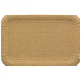 Plat rectangulaire en Carton Kraft 12x19 cm (1800 Unités)