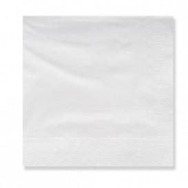 Serviette Papier à Cocktail 20x20cm 3E Blanc (100 Utés)
