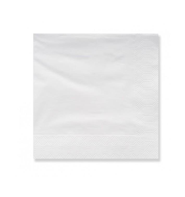 Serviette Papier à Cocktail 20x20cm 3E Blanc (4.800 Utés)