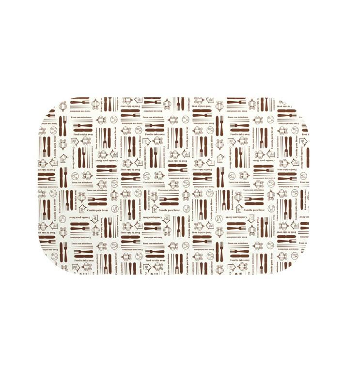 Couvercle Carton Barquette Aluminium 1500ml (100 Unités)
