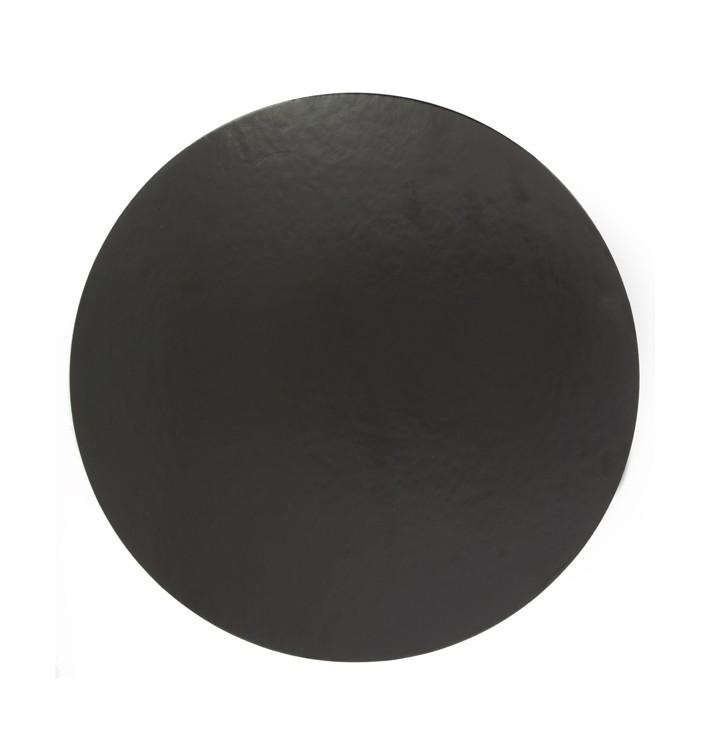 Disque Carton Noir 240 mm (100 Unités)