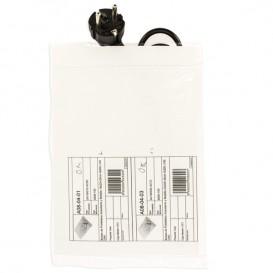 Sac en Polyétylène Zip double poche 18x22,5+20cm G200 (100 Utés)
