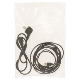 Sac en PE Fermeture Zip 23x32cm G160 (100 Utés)