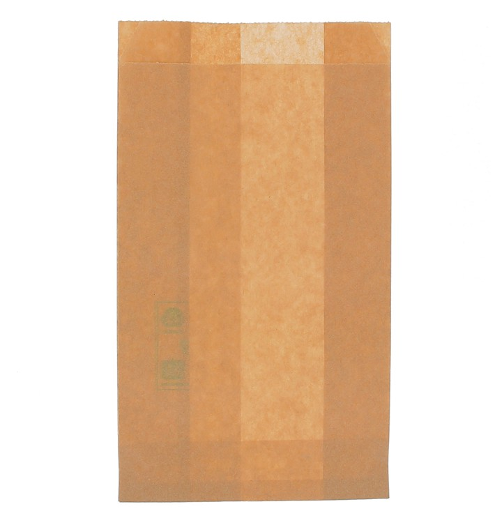 Sachet Hamburger Ingraissable Kraft 12+6x20cm (250 Utés)