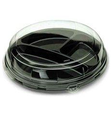 Couvercle Plastique Transp. pour Assiette 26x5cm (126 Utés)