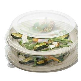 Couvercle Plastique Transp. pour Assiette 26x5cm (21 Utés)