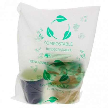 Sac Abattoir 100% Compostable 30x40cm G50 (3000 Utés)