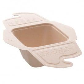 Boîte Canne à Sucre MenuBox 13x13x7cm 500ml. (150 unités)