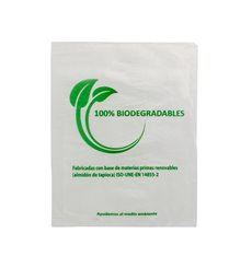 Sac Plastique 100% Compostable 16x24cm (100 Utés)