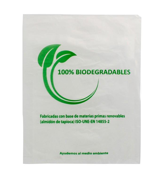 Sac Plastique 100% Compostable 30x40cm (100 Utés)