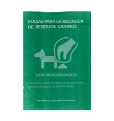 Rouleau de sac excrément chien 100% bio 18x26cm (5000 unités)