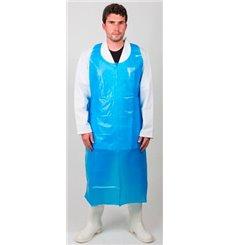 Tablier Polyéthylène 20 Microns 120x76cm Bleu (100 Utés)