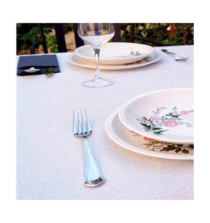 Nappe en Non-Tissé PLUS Blanc 100x100cm (150 Utés)