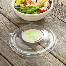 Couvercle Plastique RPET Transparent pour Bol Ø17cm (50 Utés)