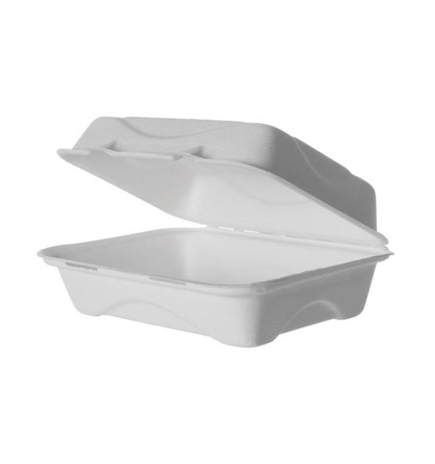 Emballage Canne à Sucre Blanche 23x15x7,5cm (250 Utés)