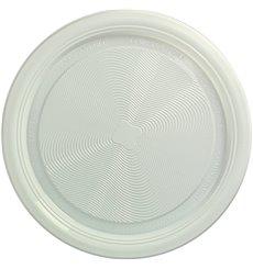 Assiette Amido Milho PLA Plate Blanc Ø220 mm (375 Utés)