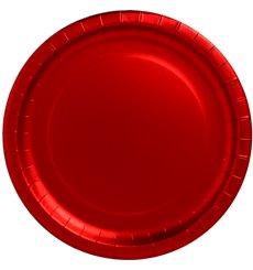 """Assiette ronde Carton """"Party"""" Rouge 330mm (45 Unités)"""