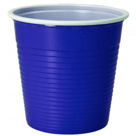 Gobelet Plastique PS Bicolore Bleu 230ml (690 Unités)