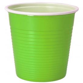 Gobelet Plastique PS Bicolore Vert Citron 230ml (690 Unités)