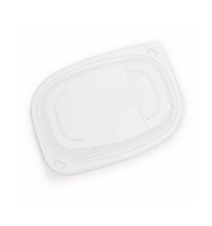 Couvercle OPS Transparent Barquette 400/600ml 190x140x20mm (20 Utés)