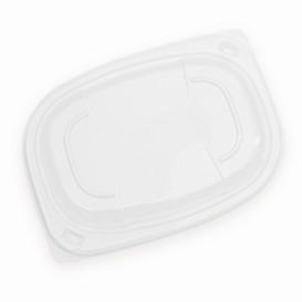 Couvercle OPS Transparent Barquette 400/600ml 190x140x20mm (480 Utés)