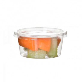 Récipient Compostable PLA Transparent 145ml (2000 Utés)