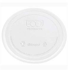 Couvercle Récipient Compostable PLA Transparent 145ml (100 Utés)