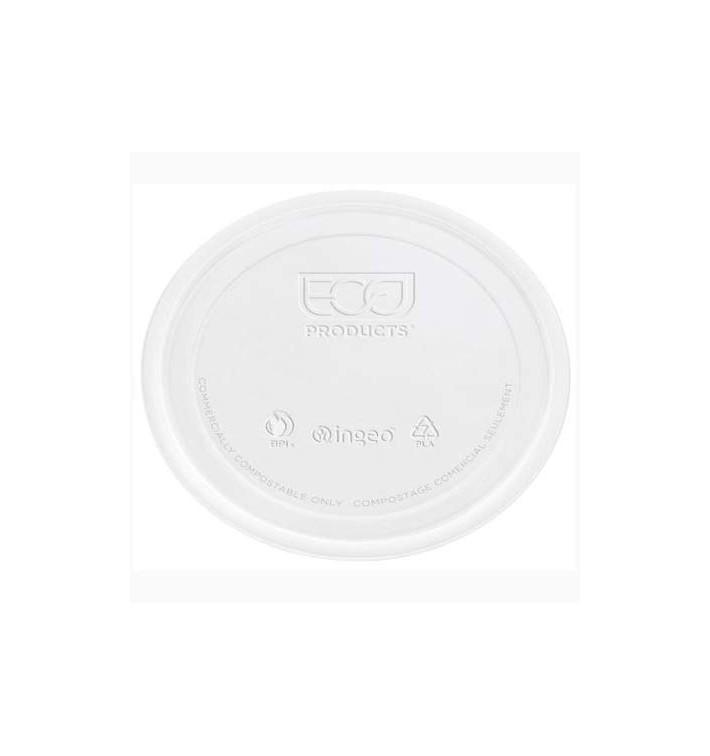 Couvercle Récipient Compostable PLA Transparent 145ml (2000 Utés)